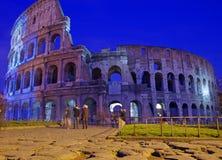 Nuit Colosseum Photos libres de droits