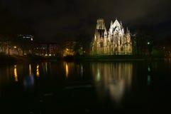 nuit d'église photo libre de droits