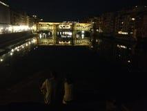Nuit d'été photographie stock