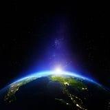 Nuit d'Asie du Sud-Est illustration stock