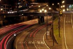 nuit d'omnibus Images stock