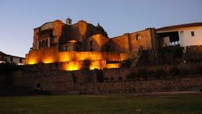 Nuit dans Cusco, Pérou photo libre de droits