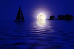 Nuit dans les tropiques photo stock