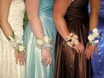 Nuit de bal d'étudiants Images stock