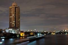 Nuit de Bangkok Photos libres de droits