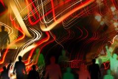 Nuit de Boogey Image libre de droits