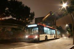 nuit de bus photos stock