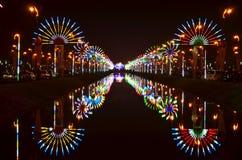 Nuit de célébration Photographie stock libre de droits