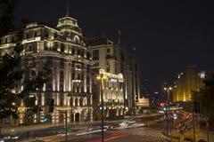Nuit de Changhaï Images stock