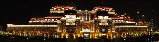 Nuit de compartiment de Tianjin Image stock