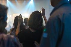 Nuit de culte Images stock