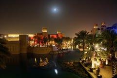 Nuit de Dubaï Images stock