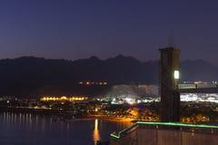 Nuit de février dans le Sharm el Sheikh Image stock