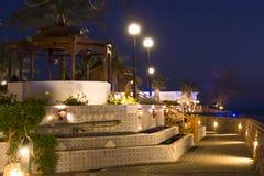 Nuit de février dans le Sharm el Sheikh Images stock