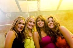 Nuit de filles à l'extérieur Images libres de droits