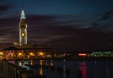 Nuit de franciscain de San de 20h15 Images libres de droits