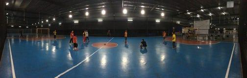 Nuit de Futsal photo stock