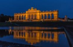 Nuit de Gloriette Schoenbrunn Image libre de droits