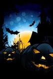 Nuit de Halloween Photos stock