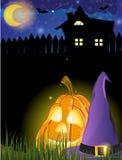 Nuit de Halloween Image libre de droits
