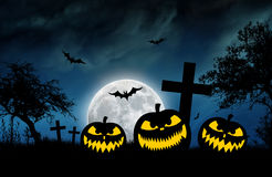 Nuit de Halloween illustration stock