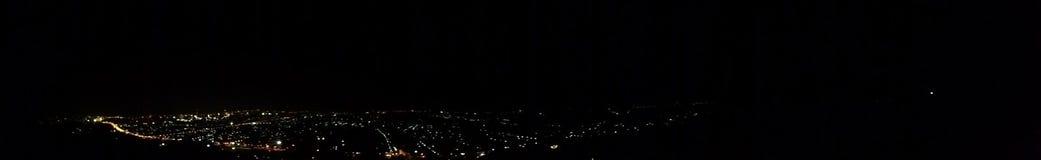 Nuit de Hatyai Photographie stock libre de droits