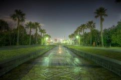 Nuit de HDR tirée à Tokyo Japon Photographie stock libre de droits