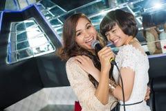 Nuit de karaoke Image libre de droits