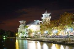 Nuit de Kissimmee Photographie stock libre de droits