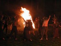 Nuit de Kupala Photo libre de droits