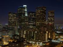 Nuit de LA Photos libres de droits