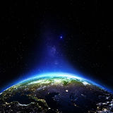 Nuit de la Russie Images stock