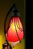 nuit de lampe Image libre de droits