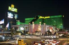 Nuit de Las Vegas Photo libre de droits