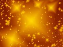Nuit de lumière des étoiles Photo libre de droits