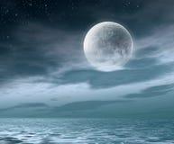 nuit de lune Photos stock