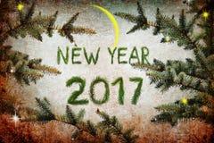 Nuit de magie de nouvelle année Photos stock
