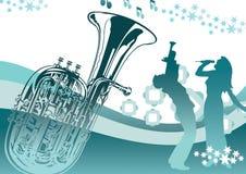 Nuit de musique à l'extérieur Image libre de droits