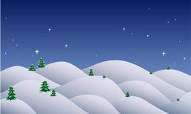 Nuit de Noël Image libre de droits