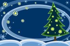 Nuit de Noël Photos libres de droits