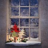Nuit de Noël de attente Photo libre de droits