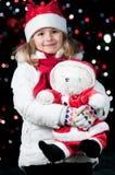 Nuit de Noël magique Images libres de droits