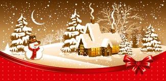 Nuit de Noël Photos stock