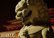 Nuit de Pékin images stock