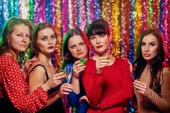 Nuit de partie de femmes Photographie stock
