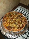Nuit de pizza photos stock