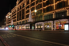 Nuit de rue de Londres Photo stock
