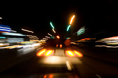 Nuit de rues photos stock