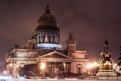 Nuit de St Petersbourg photographie stock libre de droits