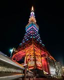 Nuit de tour de Tokyo photos stock